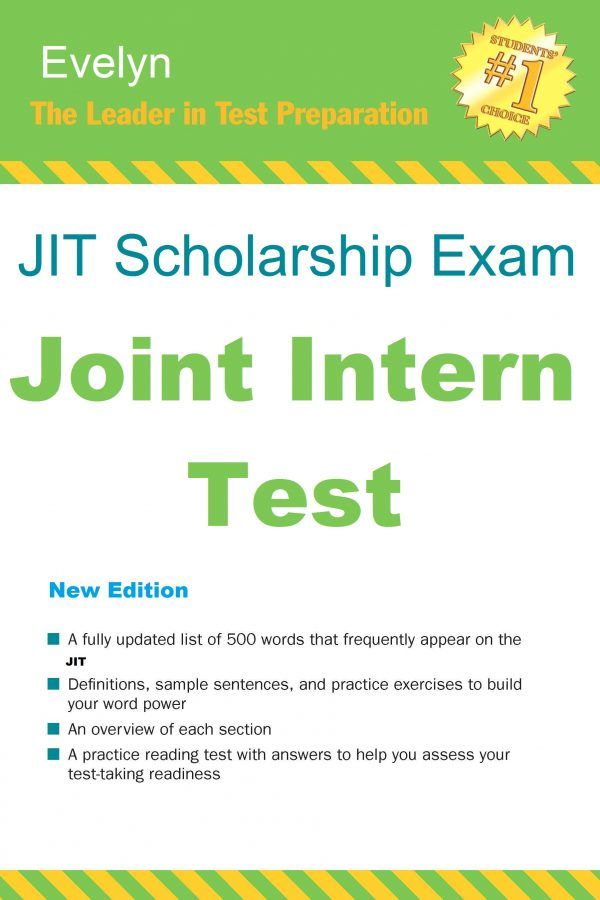 JIT Scholarship Exam Book