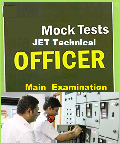 MOCK TESTS of JET Technical Officer Exam