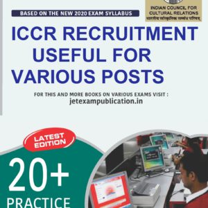 ICCR recruitment various post preparation book