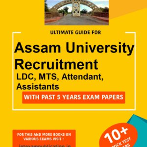 assam university recruitment preparation book